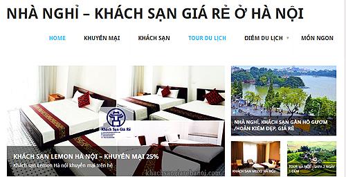 Một giải pháp hỗ trợ tìm phòng khách sạn giá rẻ ở Hà Nội